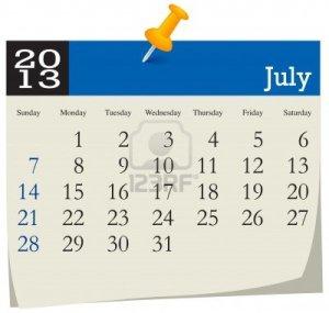 July-2013-calendar